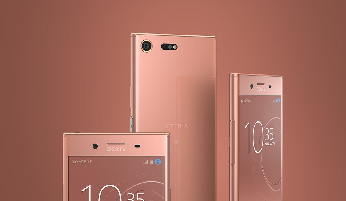 Sony Xperia XZ Premium revealed a new bronze pink color and its cute