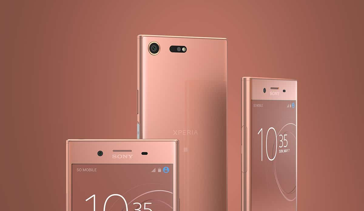 Sony xperia xz premium revealed a new bronze pink color for Housse xperia xz premium
